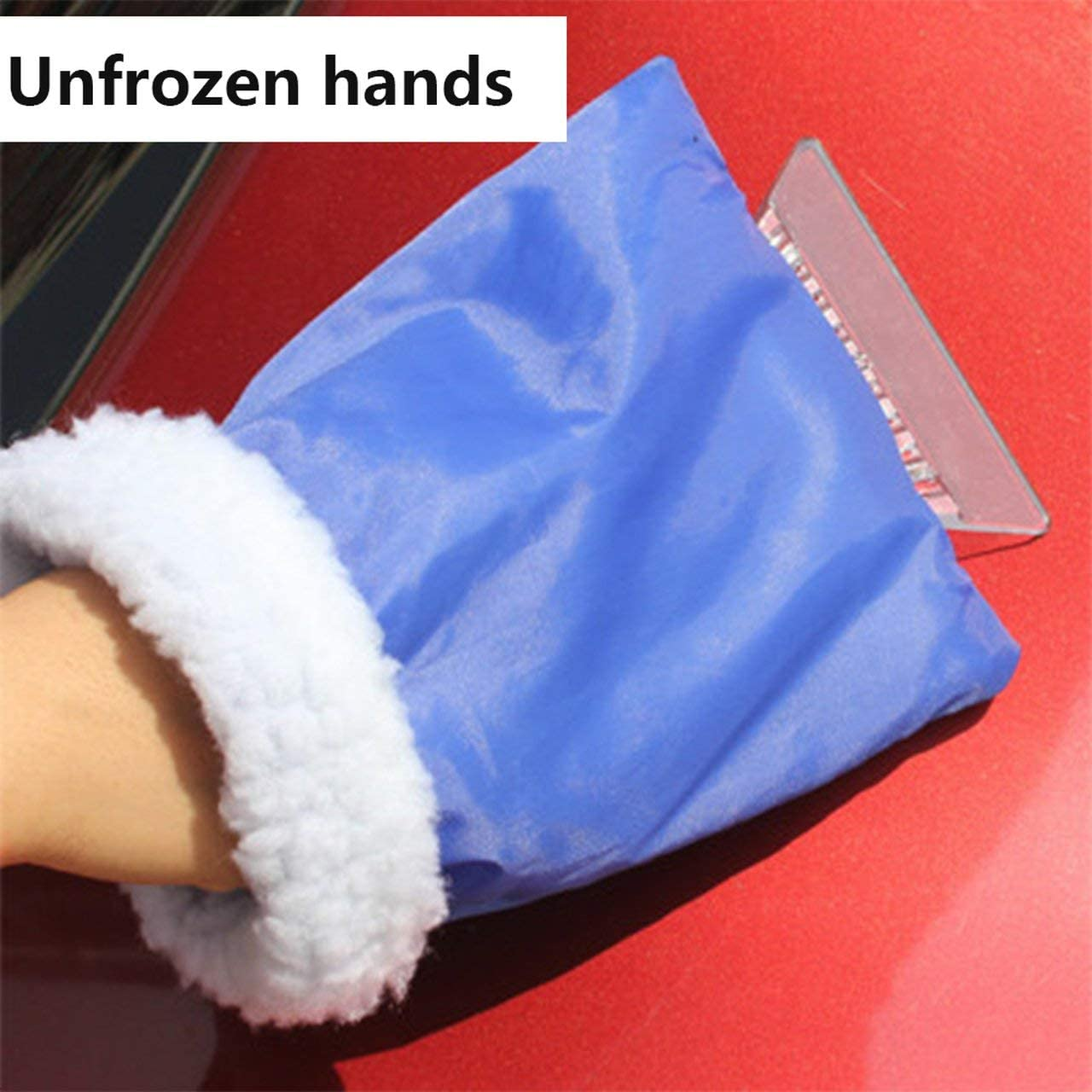 Car Ice Scraper Winter Car Snow Removal Shovel Gloves Assistant Cleaning Car Windshield and Windows Tools