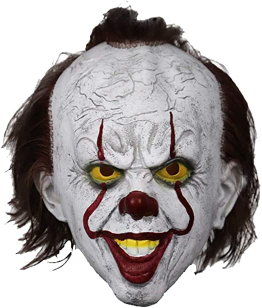 American Horror Story Mask Latex Scary Adults Fancy Dress Theme Costume