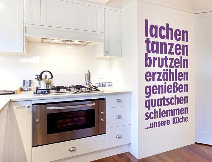 I-love-Wandtattoo 12067 Wandtattoo Küchen Spruch \