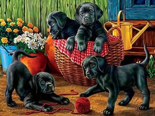 by Educa Boras 500 Piece Educa Boras Puppies Puzzle