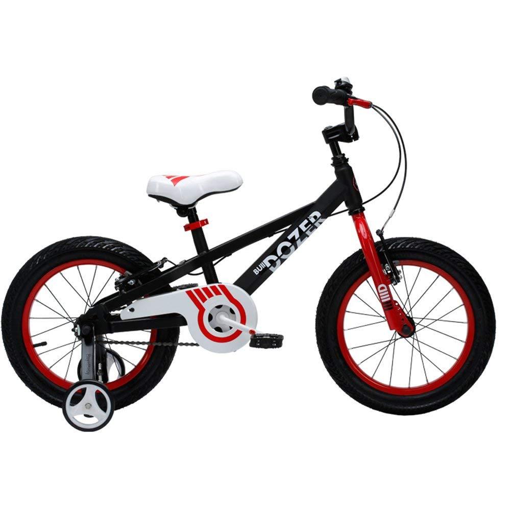 ファッション子供用自転車 - TY-115子供自転車513歳の男の子の女の子高炭素鋼子供自転車安定した耐衝撃性のピアノ塗装安全 18-inch  B07RTT6S7F