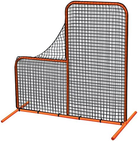 CHAMPRO Brute Pitcher s Safety Steel Frame Protective L-Screen for Batting Cages 7 x 7