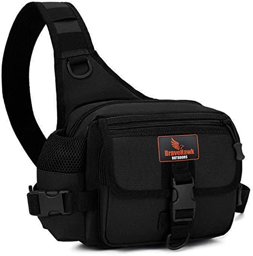Outdoor Military Tactical Shoulder Bag Hiking Sling Pack Crossbody Travel Bag