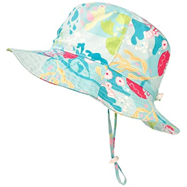 4b276a4d877e7 Image Unavailable. Image not available for. Color  SOMALER Toddler Kids Sun  Hats Baby Wide Brim UV ...
