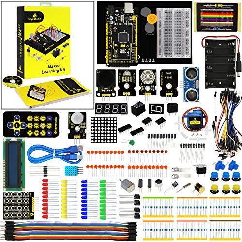 KEYESTUDIO Mega 2560 Starter Kit for Arduino Project, STEM Educational Kit for Kids and ()
