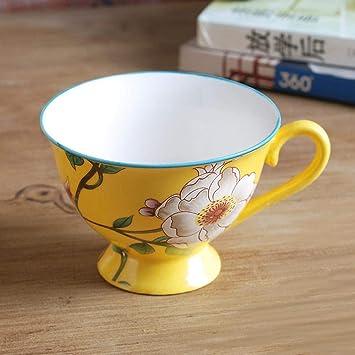 LFHKP Europea Creativa cerámica fría Botella de Agua hogar Gran Capacidad té Fruta Tetera Conjunto Alta Temperatura Grande Juegos de té: Amazon.es: Hogar