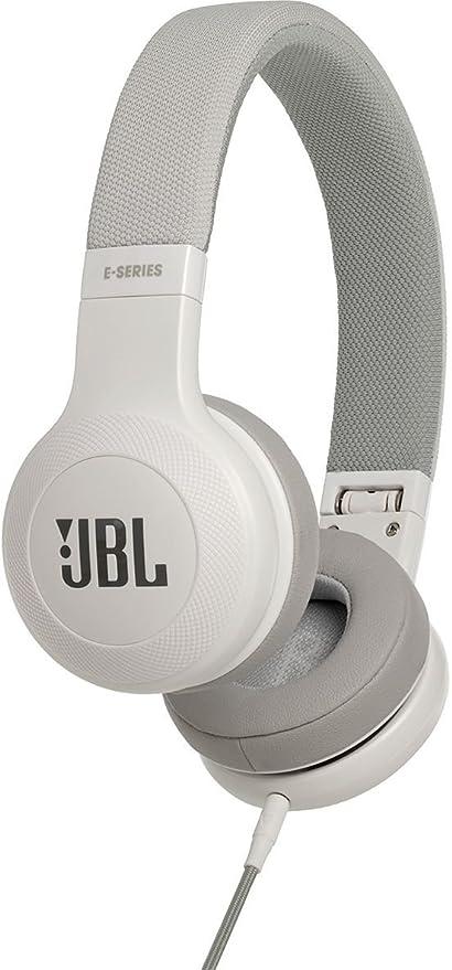 JBL E35 - Auriculares Supraaurales en el Diseño Plegables con Universal de 1 Botones de Mando