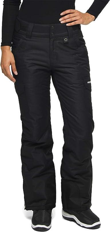 Amazon Com Arctix Pantalones De Carga Con Aislamiento Para Deportes De Nieve Para Mujer Clothing