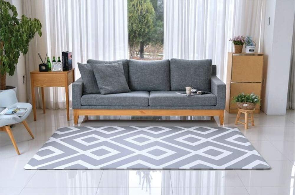 Airliz premium Daily Diamond living room mat 層間騒音防止保育園マットリビングマット(海外直送品) (140x200x1.4cm)
