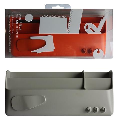 Oggetti In Plastica Per La Casa.Palomar Porta Oggetti In Plastica Con Supporto Magnetico Amazon It
