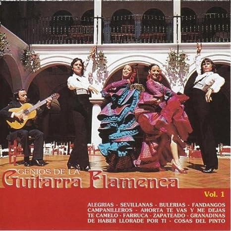 Genios de Guitarra Flamenca #1: Various : Amazon.es: Música