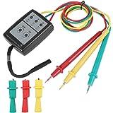 Akozon SP8030 Medidor de secuencia LED indicador de rotación de fase digital con…