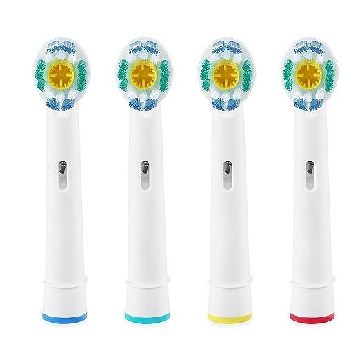 genkent cabezales de recambio para cepillo de dientes compatibles con Oral B Cepillo de dientes 3d color blanco: Amazon.es: Salud y cuidado personal