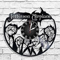 Jefferson Airplane design wall clock, Jefferson Airplane wall poster