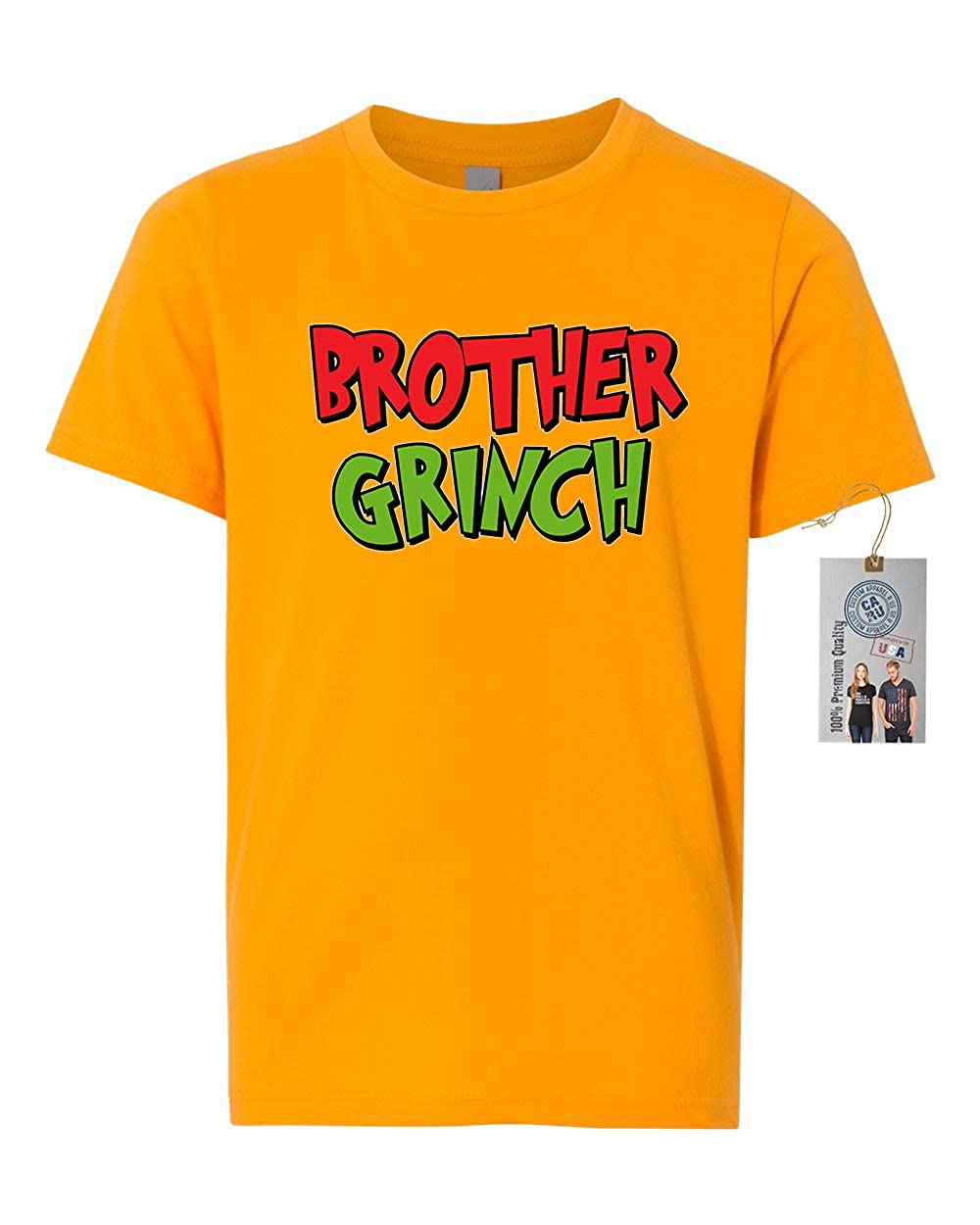Brother The Grinch Girls Boys Short Sleeve