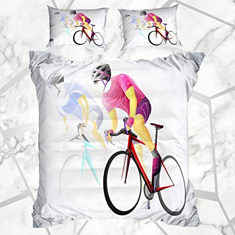 Juegos de fundas nórdicas Bicyclist Group Ciclismo Deporte ...
