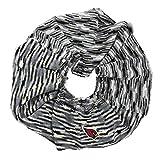 NFL Arizona Cardinals Infinity Space Dye Cozy Scarf, One Size, Light Gray/Black/White