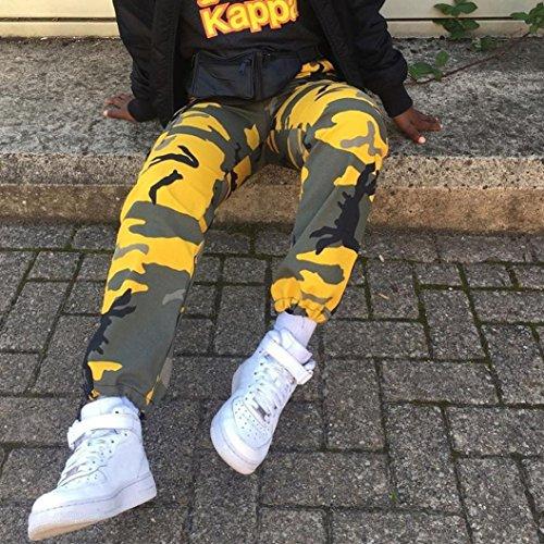 Camo Camuffare Donna Donna Pantaloni Harem Fashion Casual Jogger Camouflage Cargo Gli Cloom Aperta Donne Giallo Sport All'aria Jeans Pants qw7ECxT0