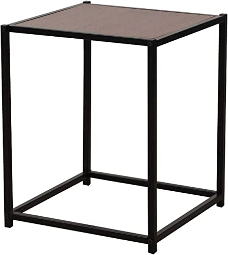 End Table Rustic Square Coffee Table Side Table Couch Table Tea Table