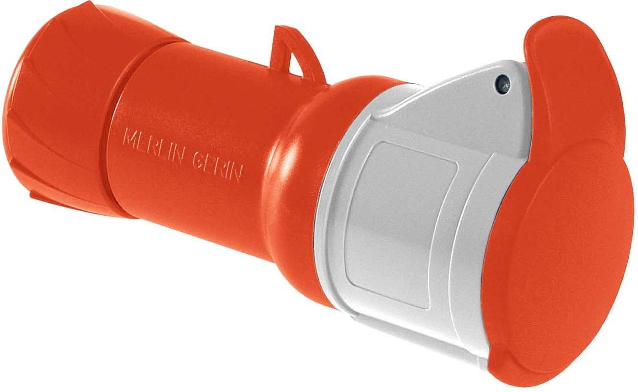n Schneider electric pkf16/m435/Papillote prise mobile Industrial t p/ôles 3p IP44/16/A 380//415/V vis captif