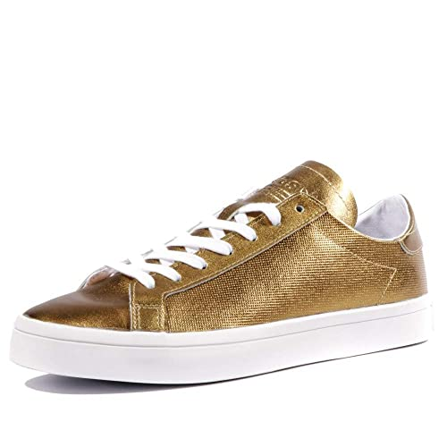 low priced 989b3 b4952 Image Unavailable. Image not available for. Color  adidas Originals Women s Court  Vantage Trainers ...