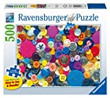 Buttons Jigsaw Puzzle, Large Format, 500-Piece