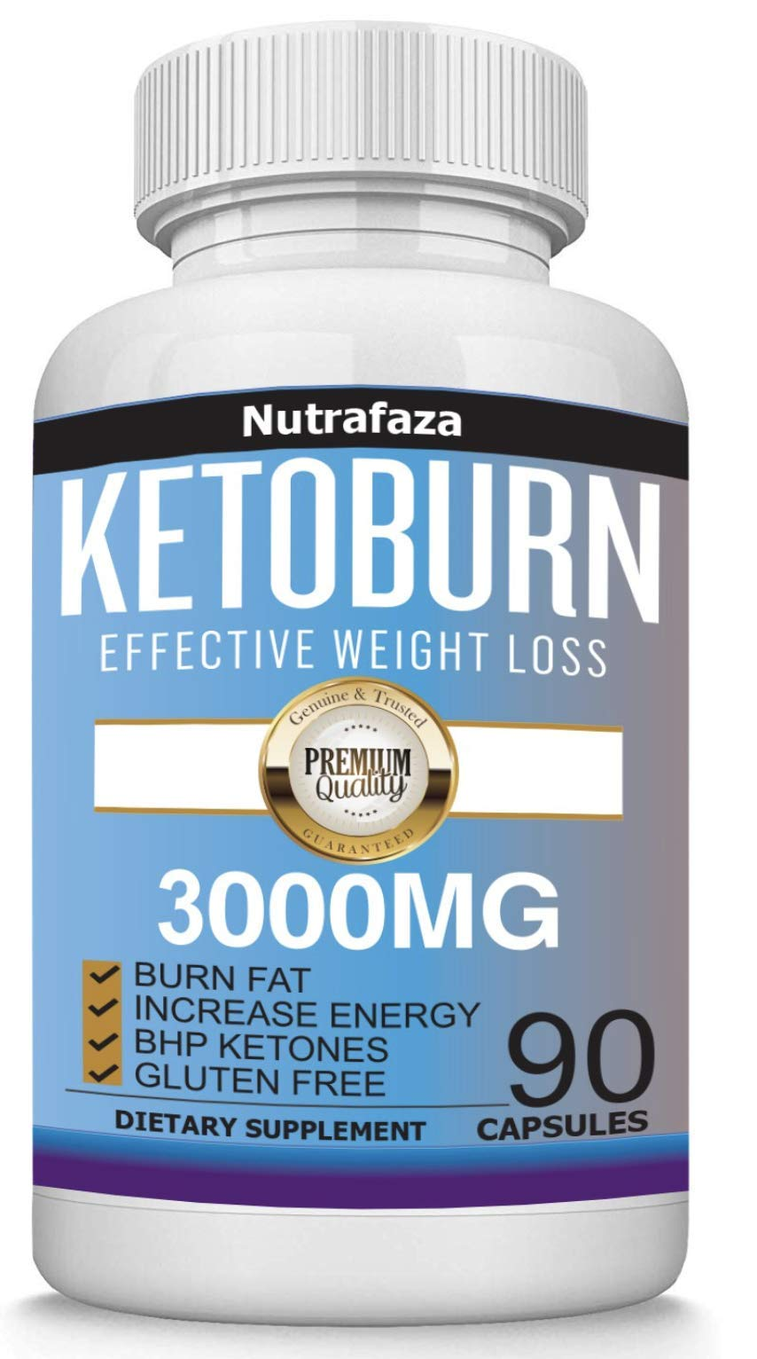 Keto Diet Pills - Supports Healthy Weight Loss, Boost in Energy, Mental Clarity and Focus - Extra Strength Keto Burn Formula