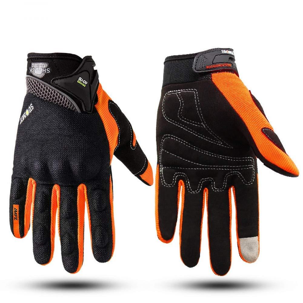GLOVESCOA Vollfinger Atmungsaktive Sommer Handschuhe Touchscreen Motorrad Racing Handschuhe Männer Schutz Gears Motocross Guantes De Moto