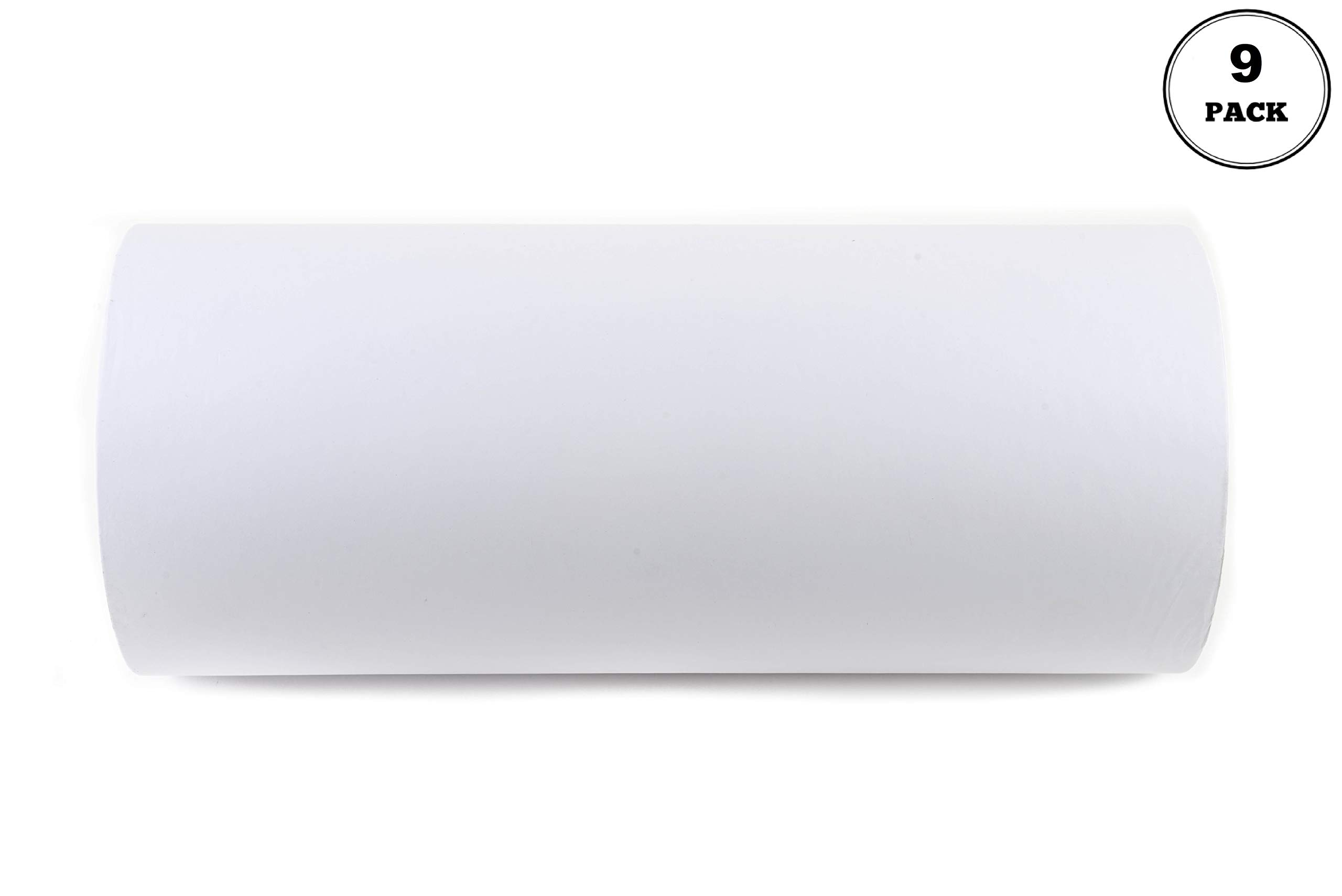 [9 Pack] EcoQuality Butcher Paper 15'' x 1000 ft - Roll for Butcher, Freezer Paper Great for Restaurants, Food Service, Butcher Paper, Meat Paper, Freezer Roll, Butcher Roll, MG15