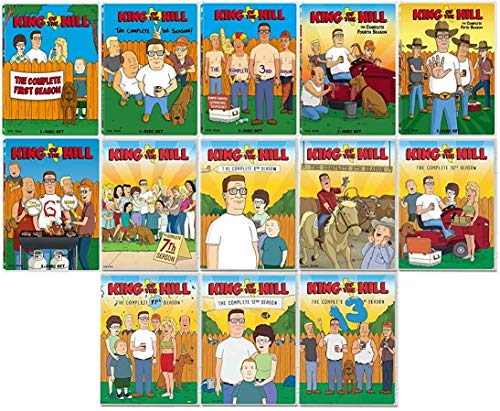 King of the Hill - Seasons 1 - 13 (Best Nas For Music Streaming)