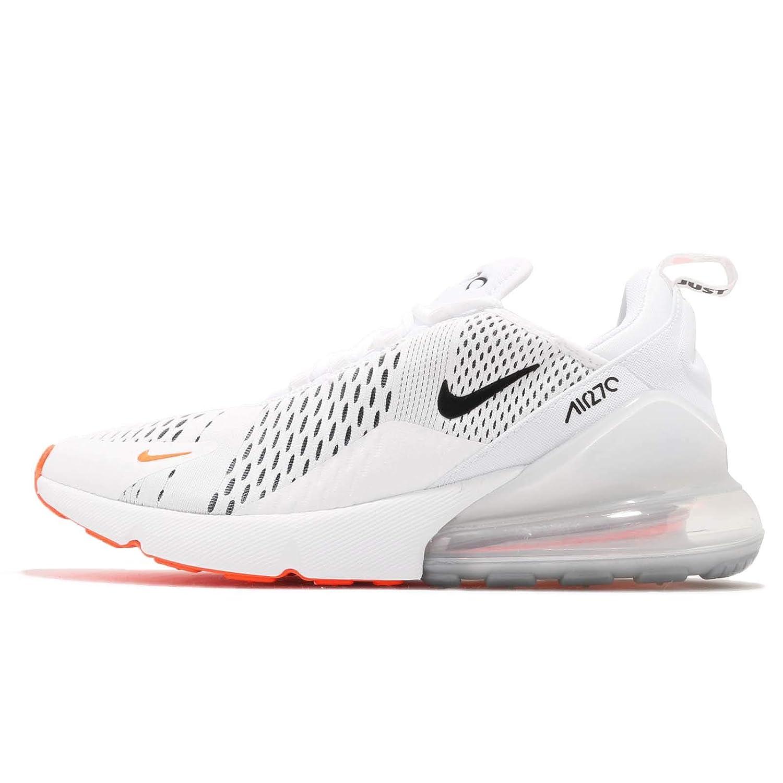 huge selection of b20c3 daffc Amazon.com   Nike Air Max 270 Mens Ah8050-106 Size 14 White Black-Total  Orange   Athletic