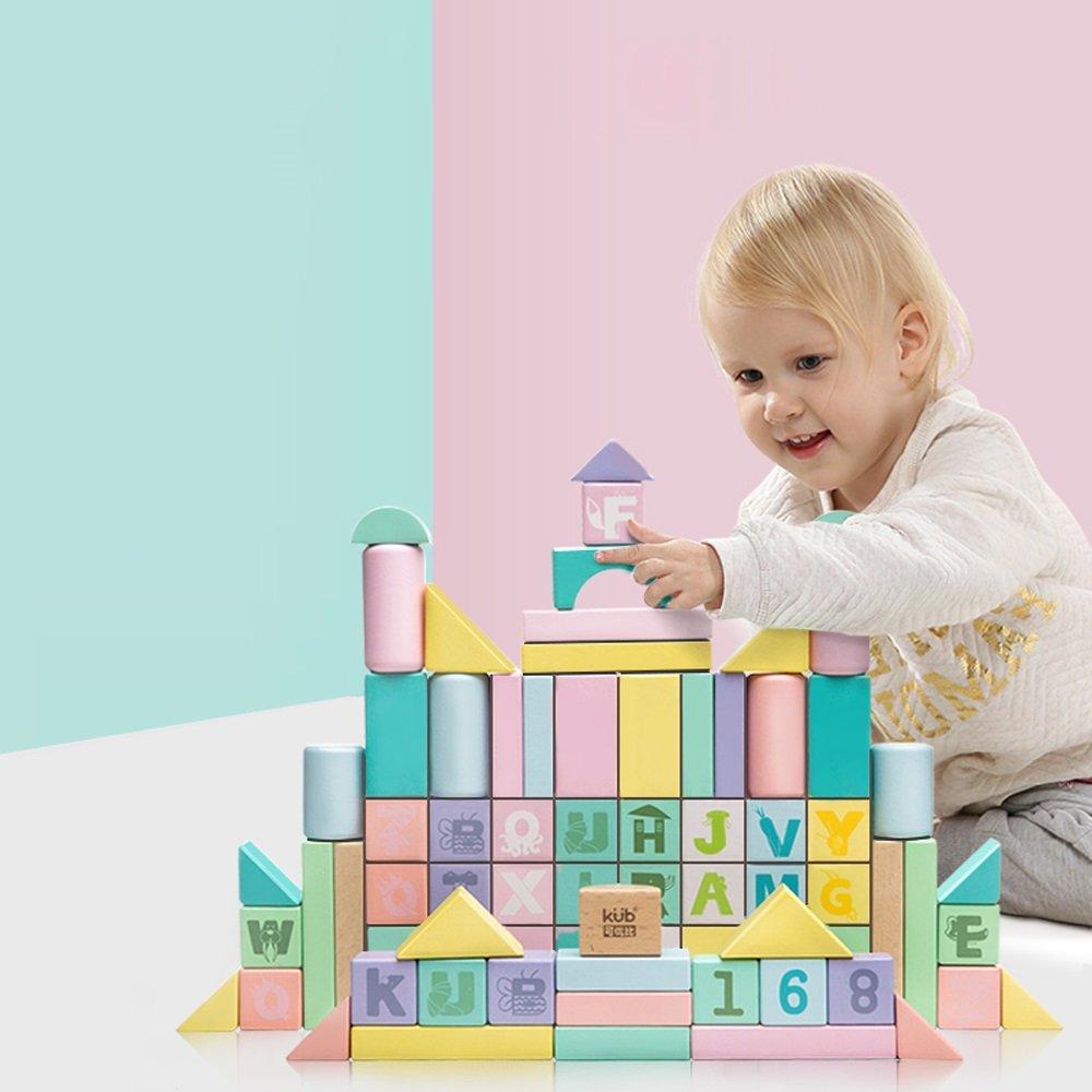 大勧め 積み上げられたゲーム木製のブロック子供のための建設教育玩具幼児少年少女 : Color ( Color B07FKLWFHR : 80 ) B07FKLWFHR, 安い割引:ab462d57 --- umniysvet.ru