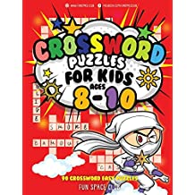 Crossword Puzzles for Kids Ages 8-10: 90 Crossword Easy Puzzle Books (Crossword and Word Search Puzzle Books for Kids) (Volume 7)