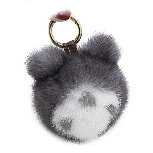 Amazon.com: Totoro - Llavero de piel de menta, diseño de ...