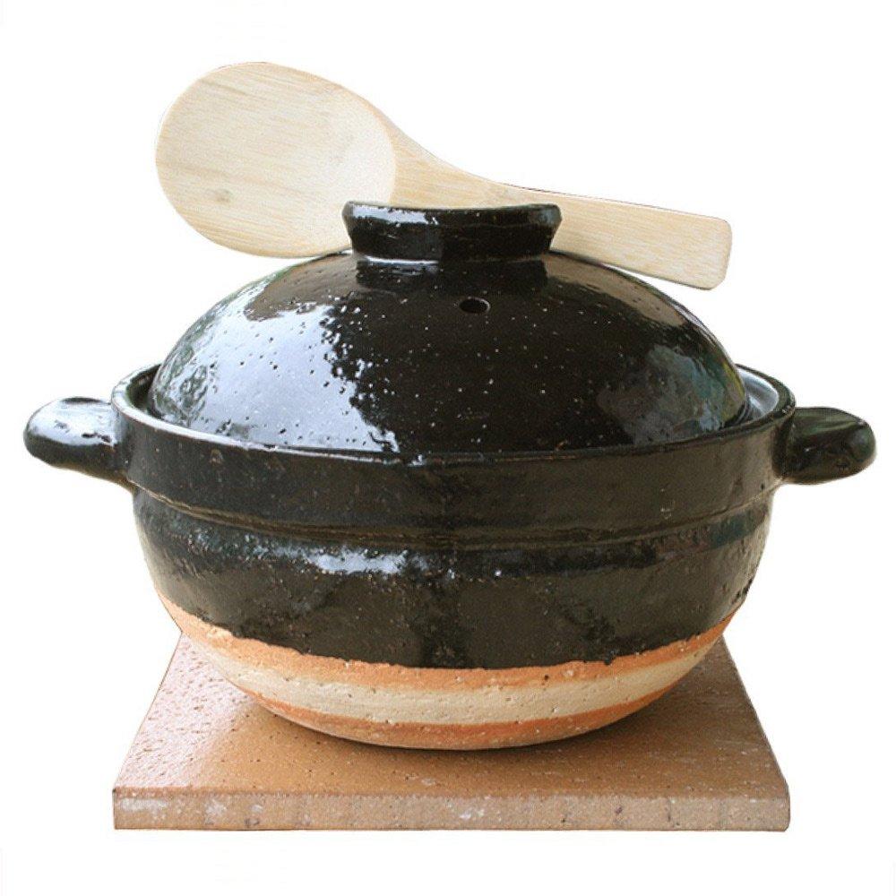 Kamadosan Clay Rice Cooker 33 Ounces by Iga-Mono