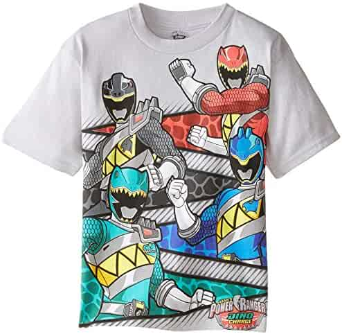 Power Rangers Boys' Short Sleeve T-Shirt