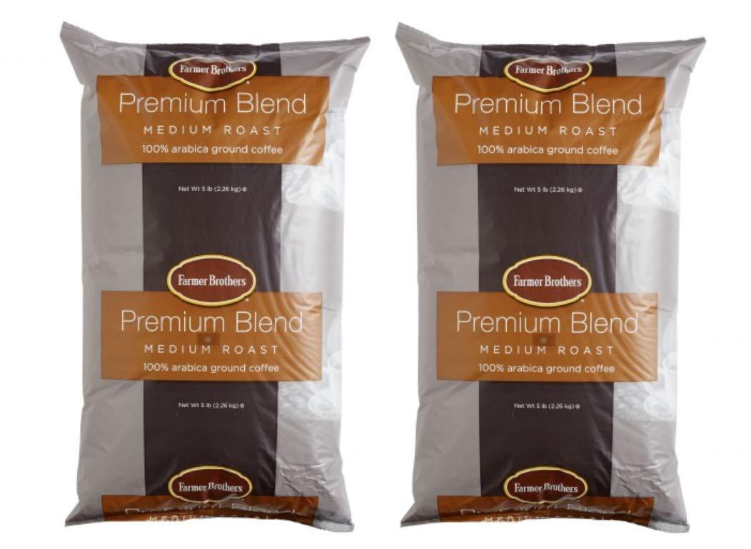 Farmer Brothers Medium Roast Ground Coffee 2 X 5lbs Ground Coffee 1271-2 by Farmer Brothers