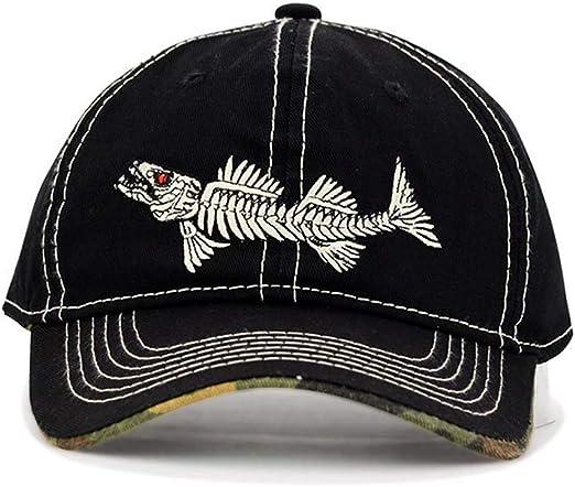 AKIZON Fishing Mens Hats Baseball Cap Fishing Hat Cotton Mens Adjustable Cap