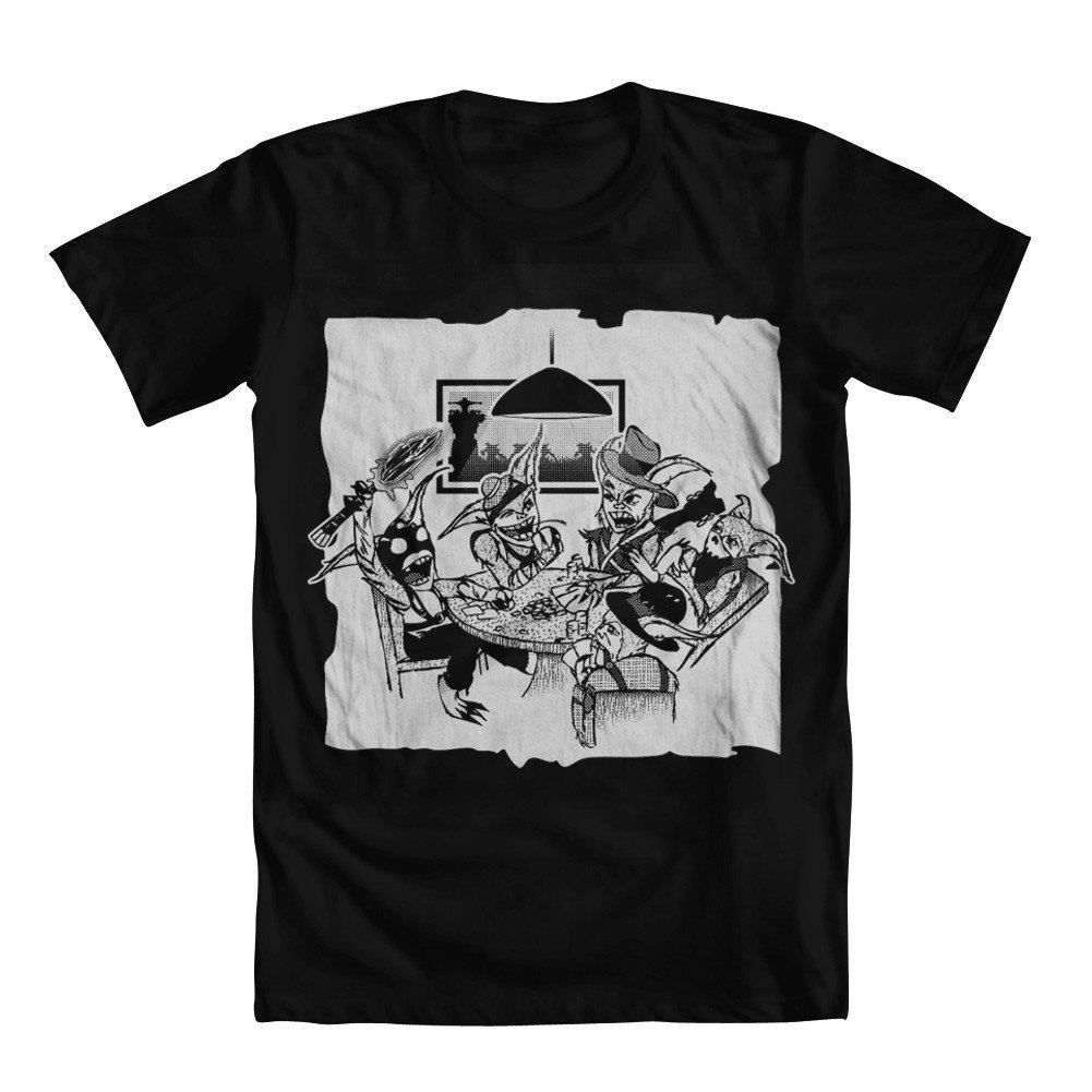 GEEK TEEZ Dota Parody Meepos Poker Girls T-Shirt