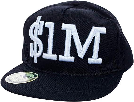 TMT - Gorra de béisbol - para Hombre Negro Negro Talla única ...