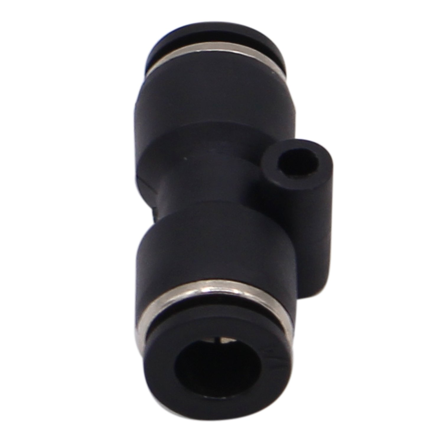 Plastic Push to Connect Fittings 1//4 inch Straight Tube Fittings Push Lock