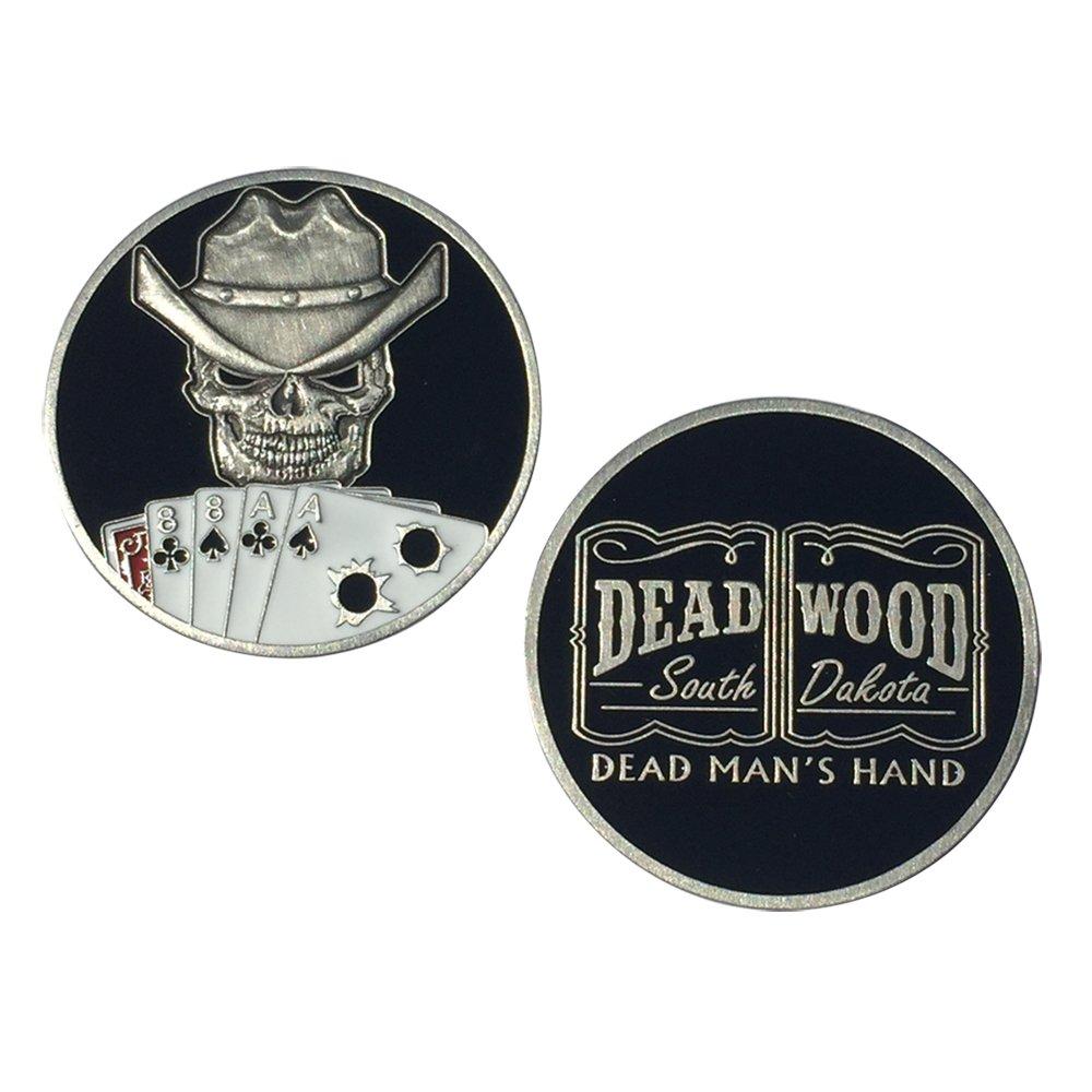 Evo /& S/&S Engines MotorDog69 Dead Mans Hand Harley Black 2-Hole Timing Cover Coin Mount Set for Sportster