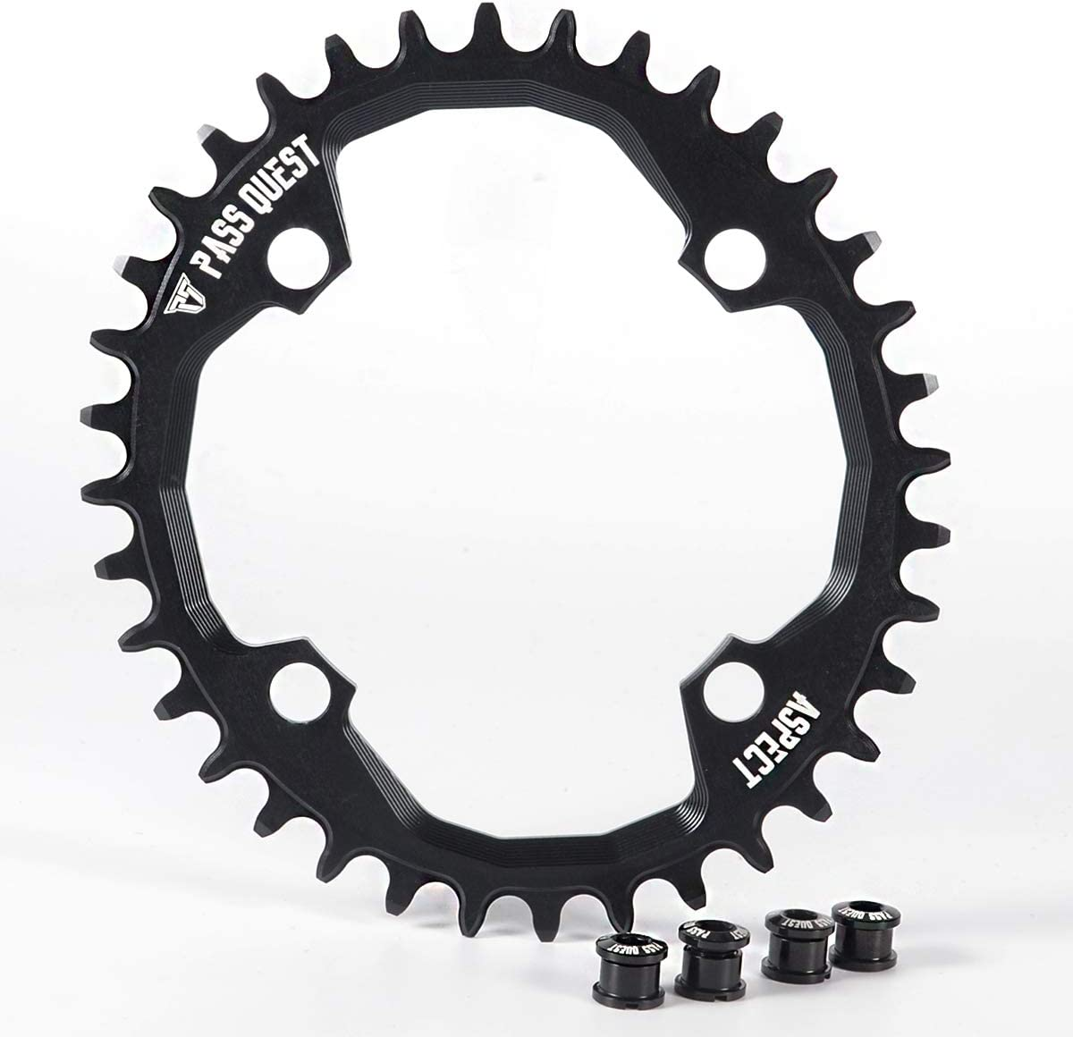 PASS QUEST Oval 104BCD MTB Narrow Wide Chainring 34T/36T/38T/40T Bike Bicycle Chainwheel/Chain Wheel Deore XT Crankset