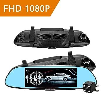 Full HD 1080P De 7 Pulgadas De Coches Grabadora De Vídeo 170 ° De Gran Angular