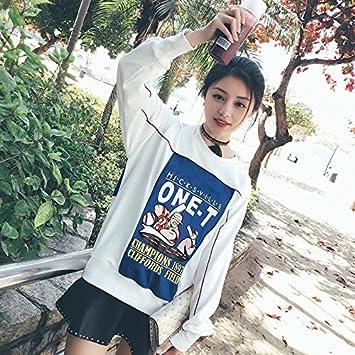 Amazon Com Korean Version 2018 Autumn New Female White Shirt