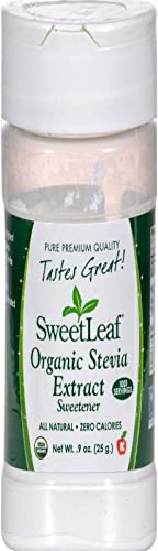 Wisdom Natural SweetLeaf Organic Stevia Extract Sweetener 9 oz 25 g