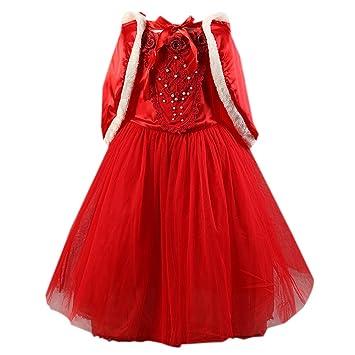81996c1f9 Moin 2015 Hot sale Vestido para Niñas Fiesta Rojo Dulce de Princesa hermosa