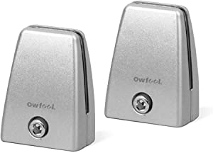 Owfeel 2pcs Screen Clip Office Partition Clip Office Desk Partition Clip Clamp Holder