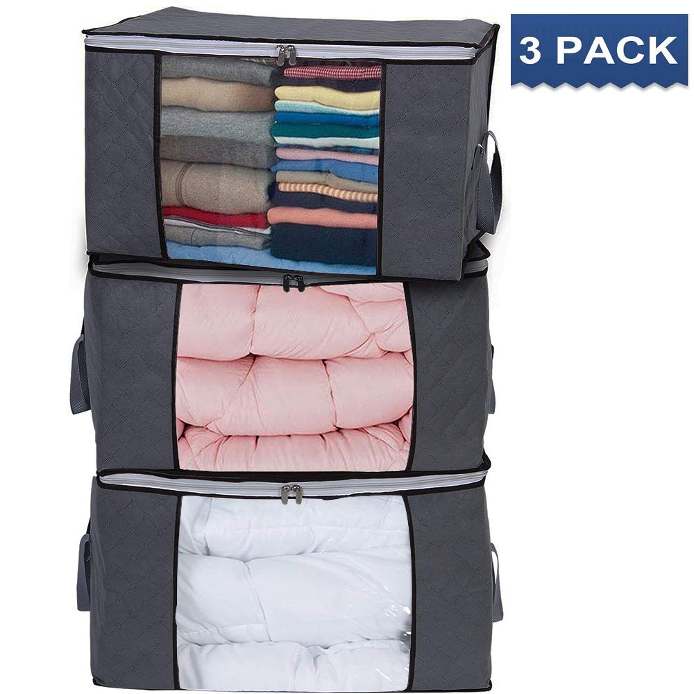 Vieshful Storage Bag Clothes Large Capacity Thick