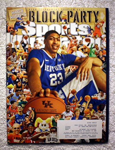 Anthony Davis - Kentucky Wildcats - 2012 NCAA Tournament Preview - Sports Illustrated - March 19, 2012 - College Basketball - March Madness - SI (Kentucky Sports Illustrated)
